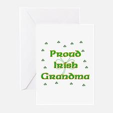 Proud Irish Grandma Greeting Cards (Pk of 10)