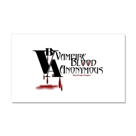 Blood Anonymous Car Magnet 20 x 12