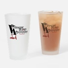 Blood Anonymous Drinking Glass