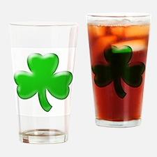 Shamrock ver4 Drinking Glass