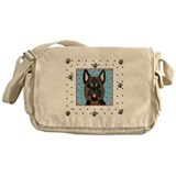 German shepherd totes bags Messenger Bag