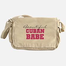 Cuban Babe Messenger Bag