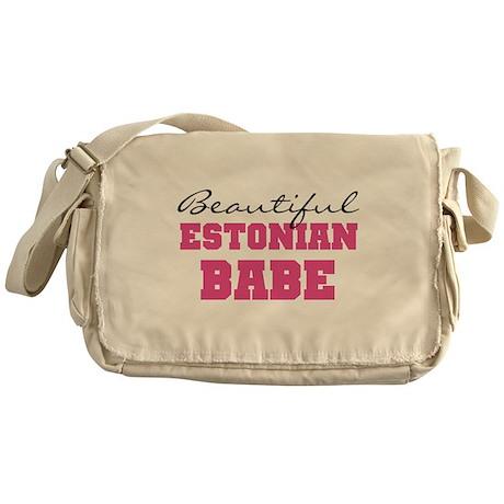 Estonian Babe Messenger Bag