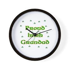 Proud Irish Grandad Wall Clock
