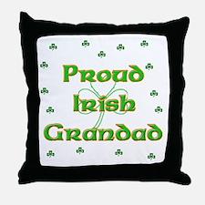Proud Irish Grandad Throw Pillow