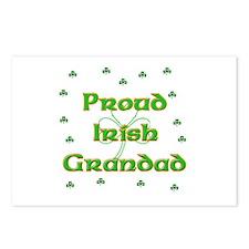Proud Irish Grandad Postcards (Package of 8)