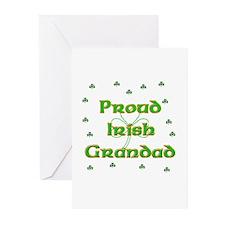 Proud Irish Grandad Greeting Cards (Pk of 10)