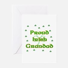 Proud Irish Grandad Greeting Cards (Pk of 10)