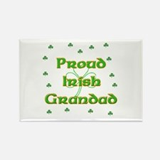 Proud Irish Grandad Rectangle Magnet