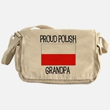 Proud Polish Grandpa Messenger Bag