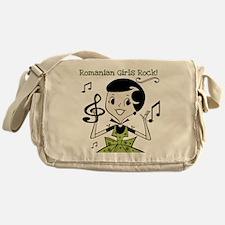 Romanian Girls Rock Messenger Bag