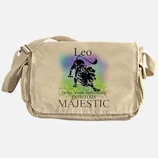 Leo the Lion Zodiac Messenger Bag