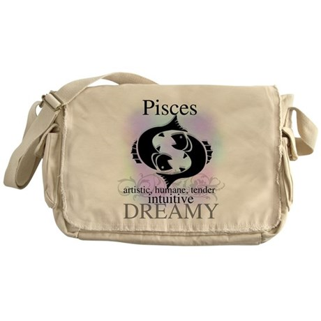 Pisces the Fish Messenger Bag