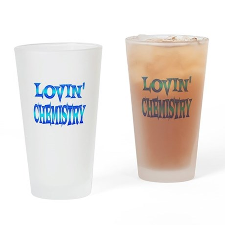 Chemistry Love Drinking Glass