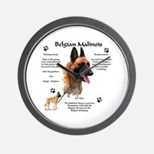 Malinois 1 Wall Clock