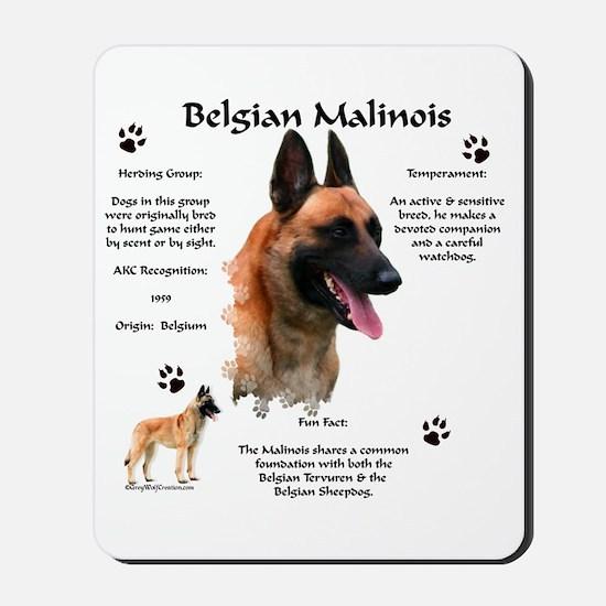 Malinois 1 Mousepad