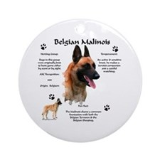 Malinois 1 Ornament (Round)
