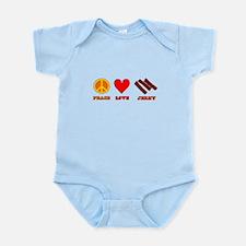 Peace Love Jerky Infant Bodysuit