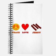 Peace Love Jerky Journal