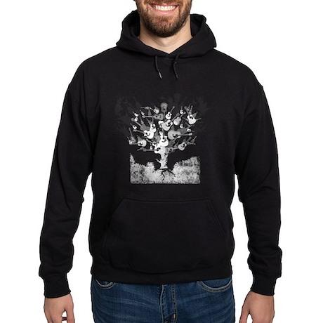 Acoustic Guitar Tree Hoodie (dark)