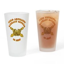 Artillery - Warrant Officer Drinking Glass