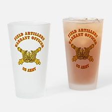 Artillery - Warrant Officer Drinking Glass