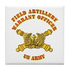 Artillery - Warrant Officer Tile Coaster