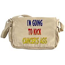 Kick Cancer's Ass ver3 Messenger Bag