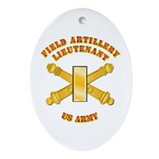Artillery - Officer - 2nd Lt Ornament (Oval)