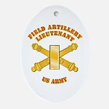 Artillery - Officer - 2nd Lt Ornament (Oval)
