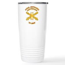 Artillery - Officer - 2nd Lt Travel Mug