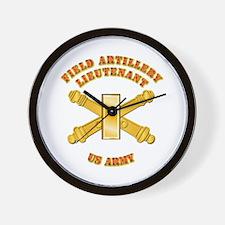 Artillery - Officer - 2nd Lt Wall Clock