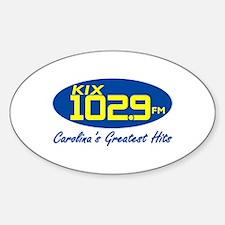 Unique Radio station Sticker (Oval)