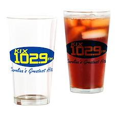 Unique Am radio Drinking Glass