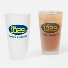 Funny Radio stations Drinking Glass