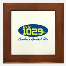 Cute Radio station Framed Tile