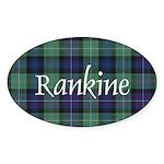 Tartan - Rankine Sticker (Oval 10 pk)