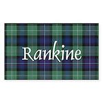 Tartan - Rankine Sticker (Rectangle)