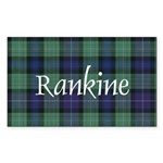 Tartan - Rankine Sticker (Rectangle 50 pk)