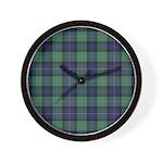 Tartan - Rankine Wall Clock