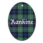 Tartan - Rankine Ornament (Oval)