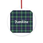 Tartan - Rankine Ornament (Round)