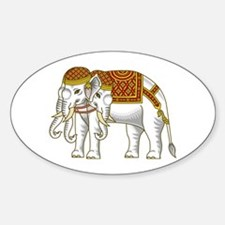 Thai Erawan White Elephant Decal