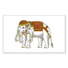 Thai Erawan White Elephant Decal