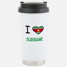 Unique Suriname Travel Mug