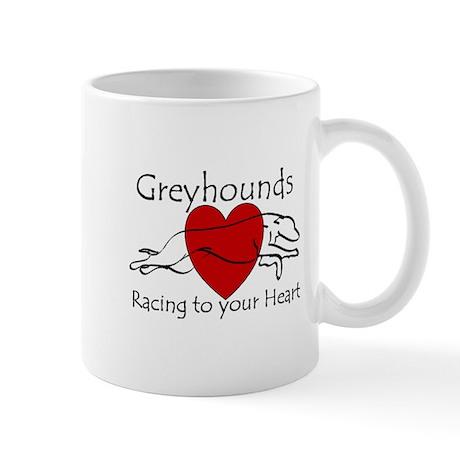 Racing To Your Heart Version Mug