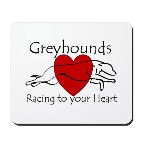 Racing To Your Heart Version Mousepad