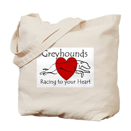 Racing To Your Heart Version Tote Bag
