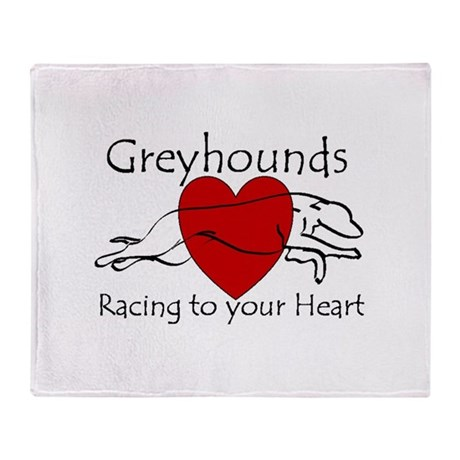 Racing To Your Heart Version Throw Blanket