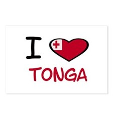 Cute Tonga Postcards (Package of 8)